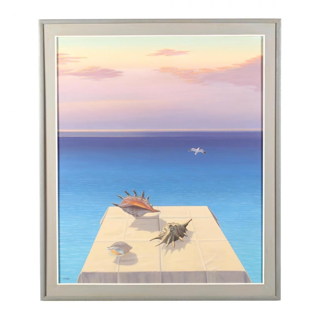 Gerasimos Dionatos (Greek, b. 1941),  Sea Shore