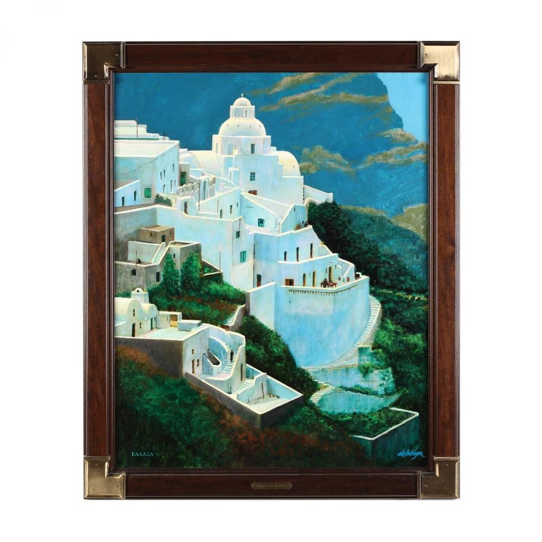 """Santorini '88  by """"de la Vega"""""""