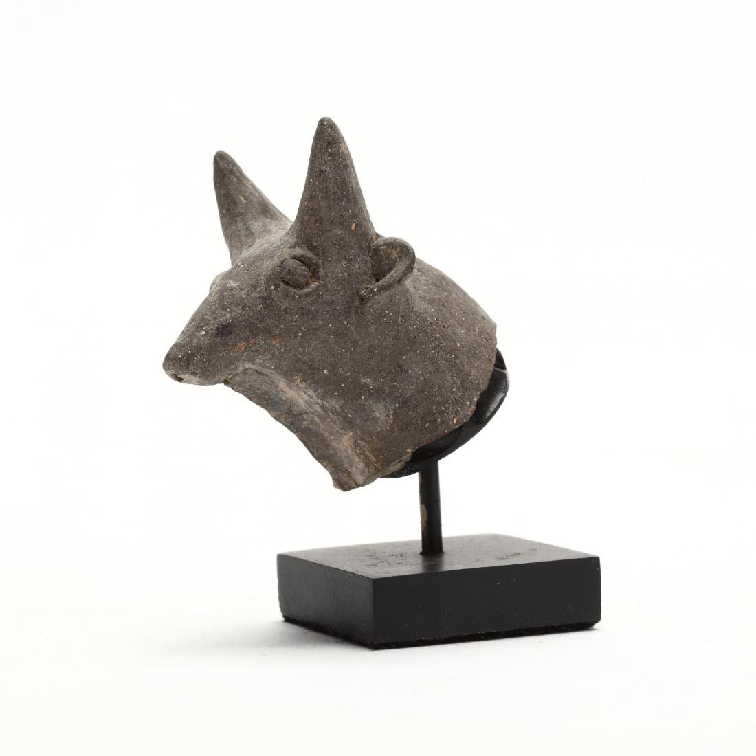 Cypriot Bronze Age Head of a Bull From a Larger Piece - 2