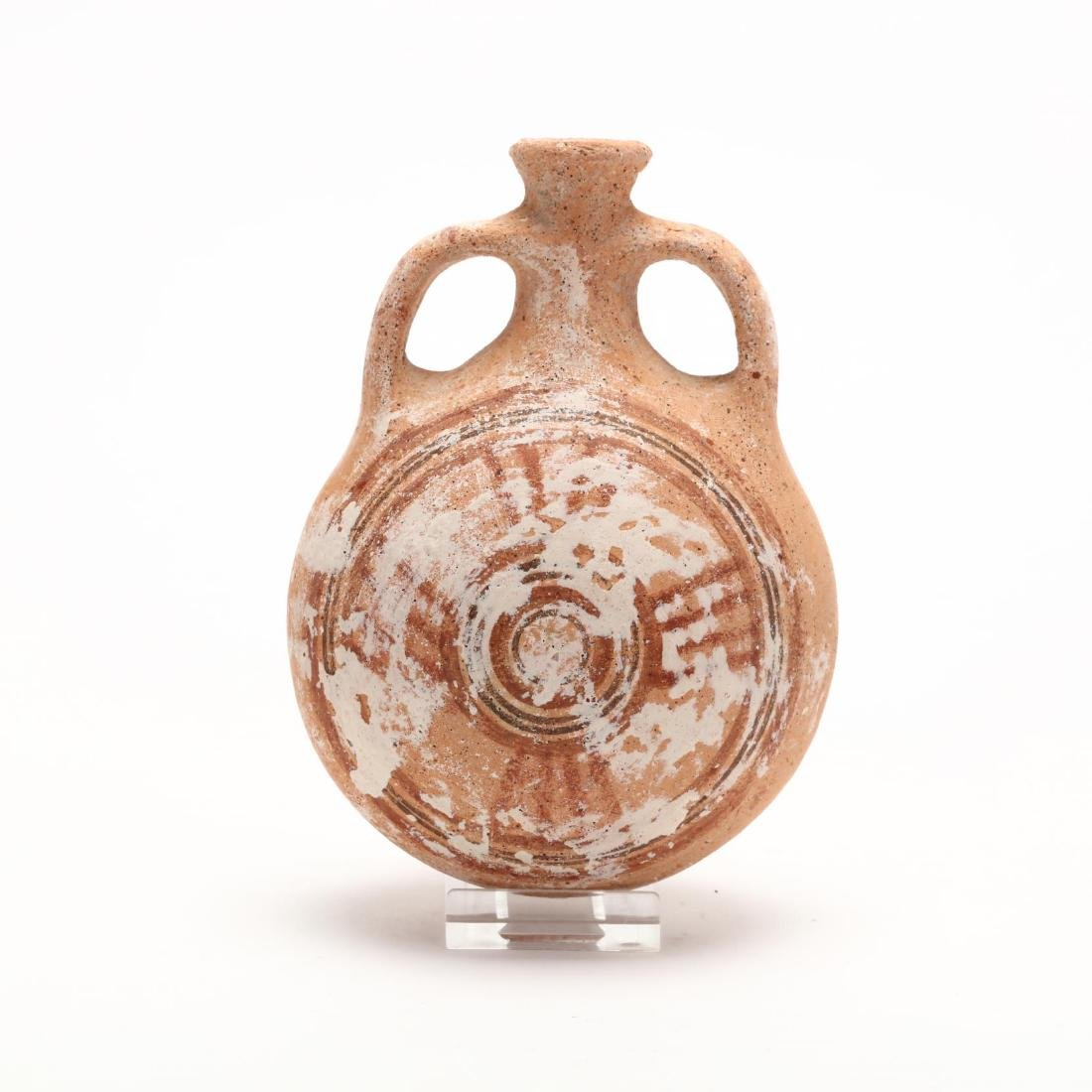 Cypriot Late Bronze Age Pilgrim Flask - 3