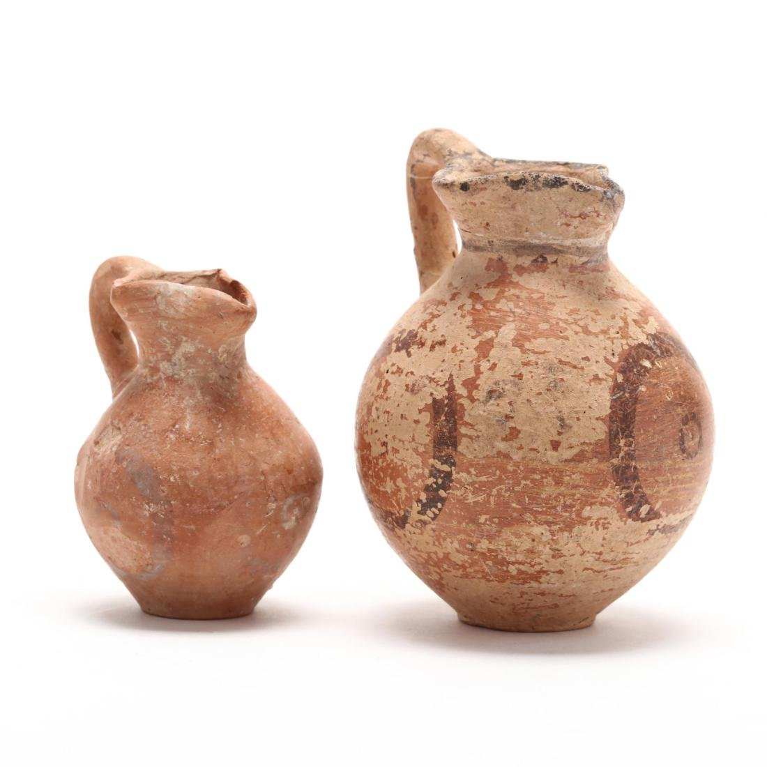 Two Cypriot Late Bronze Age Juglets