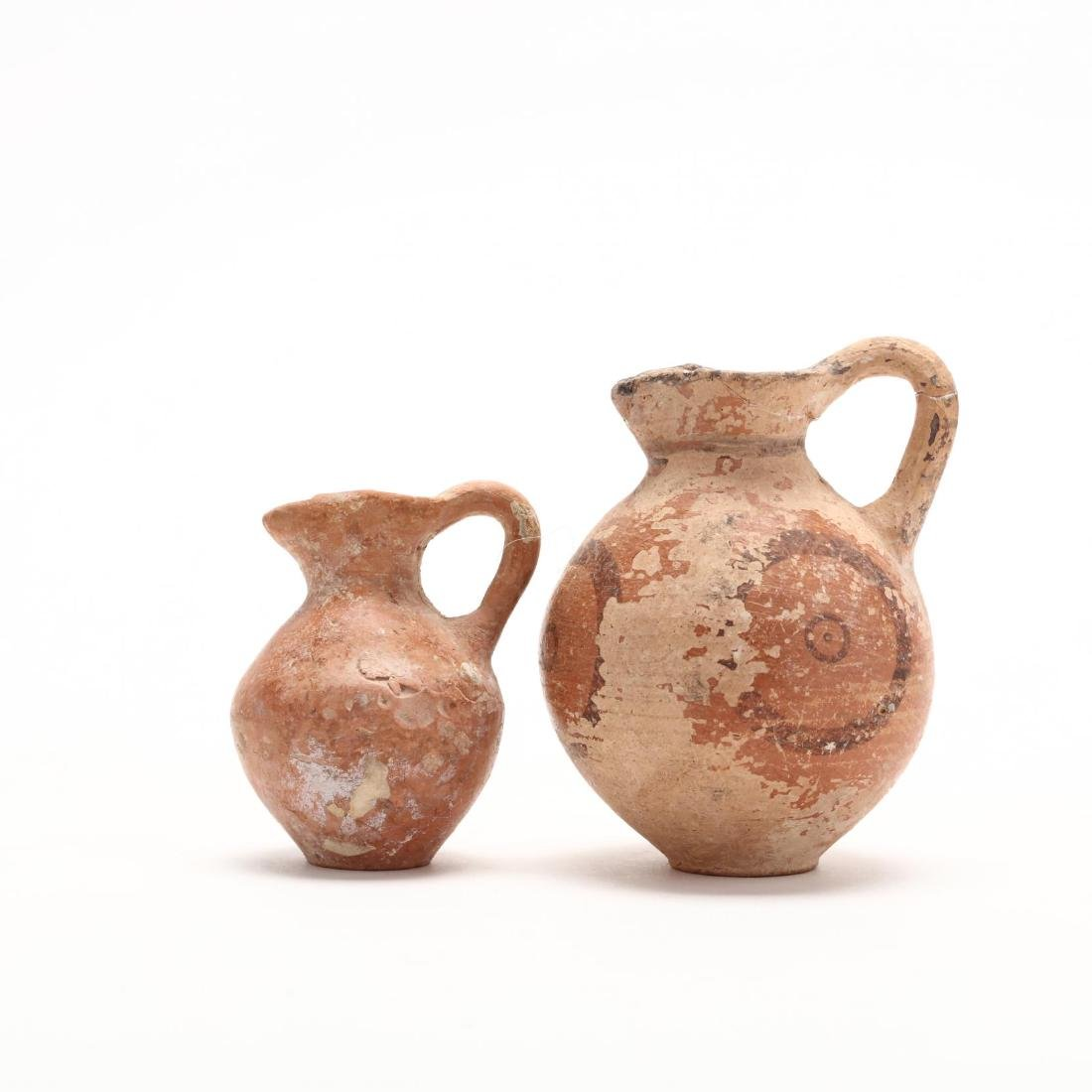 Two Cypriot Late Bronze Age Juglets - 3