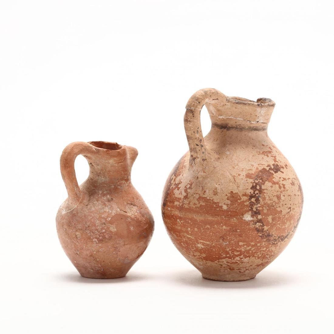 Two Cypriot Late Bronze Age Juglets - 4