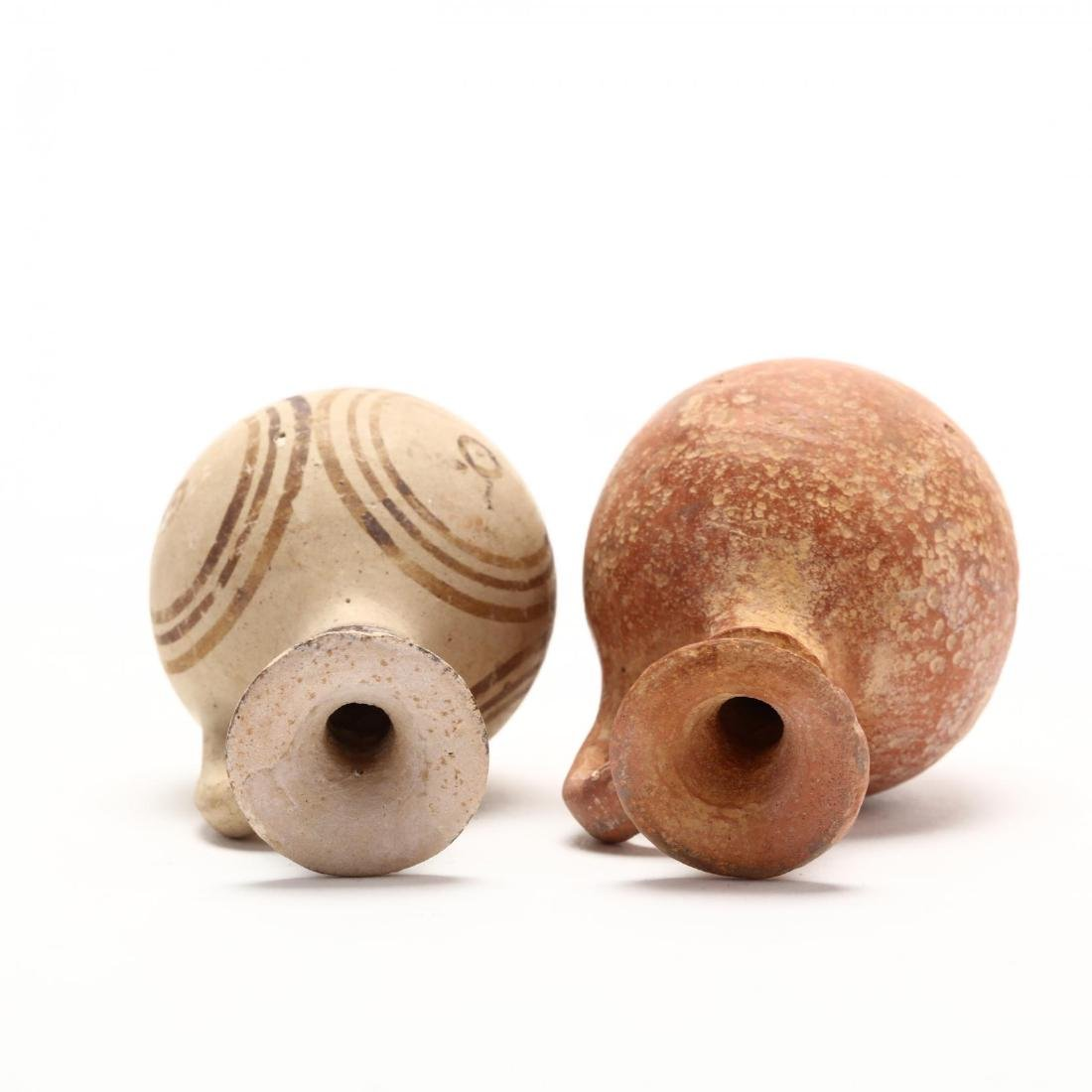 Two Cypro-Archaic Small Terracotta Juglets - 4