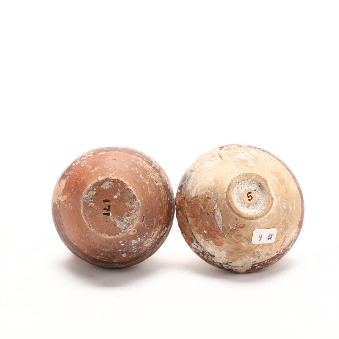 Two Cypriot Bronze Age Red Ware Juglets - 5