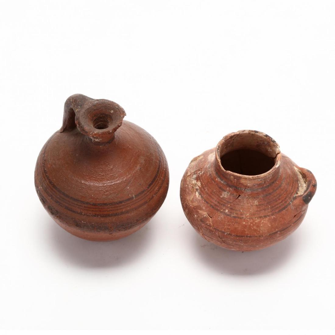 Two Cypro-Geometric Red Ware Jars - 2