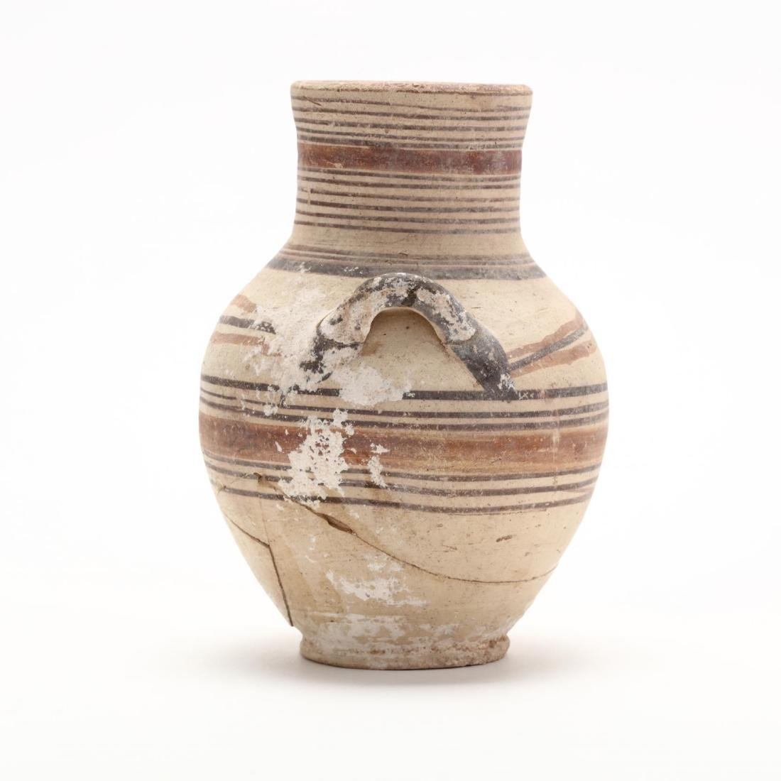 Cypro-Geometric Bichrome Small Amphora - 3