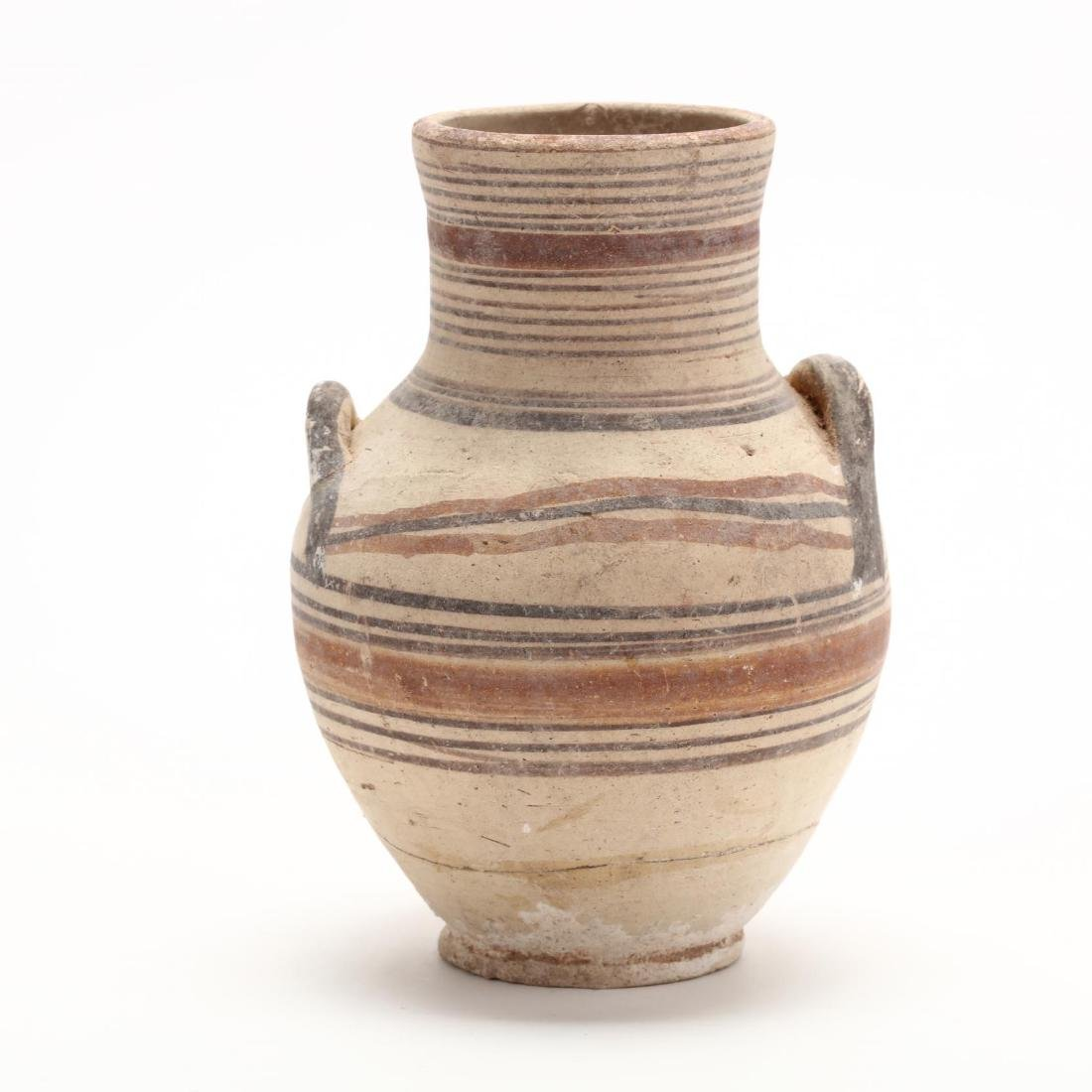 Cypro-Geometric Bichrome Small Amphora - 4