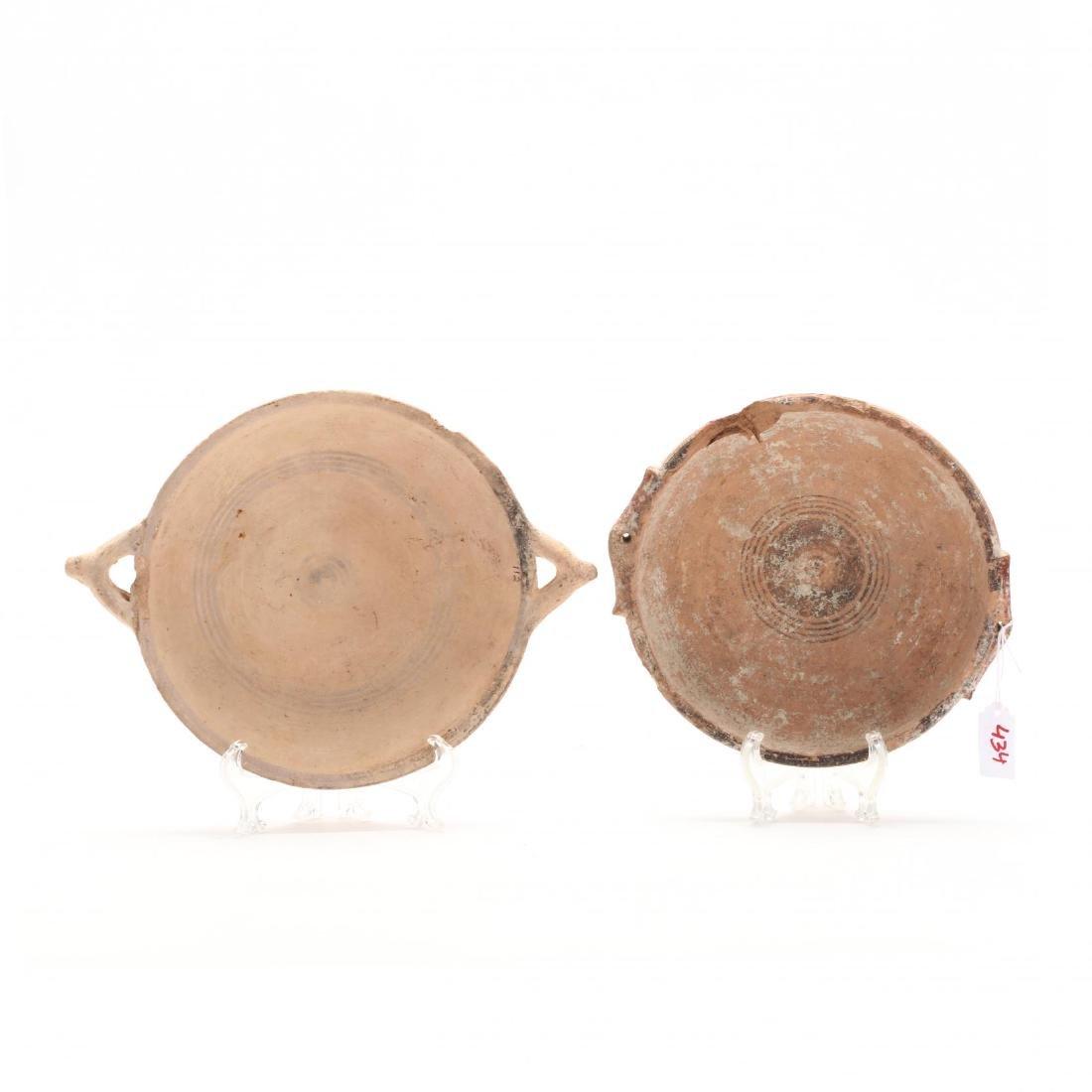 Two Cypro-Geometric Bichrome Dishes