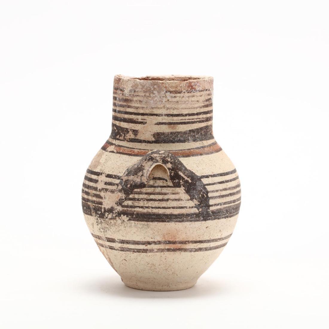 Cypro-Geometric Creme Ware Small Amphora, Ex. Haggard - 3