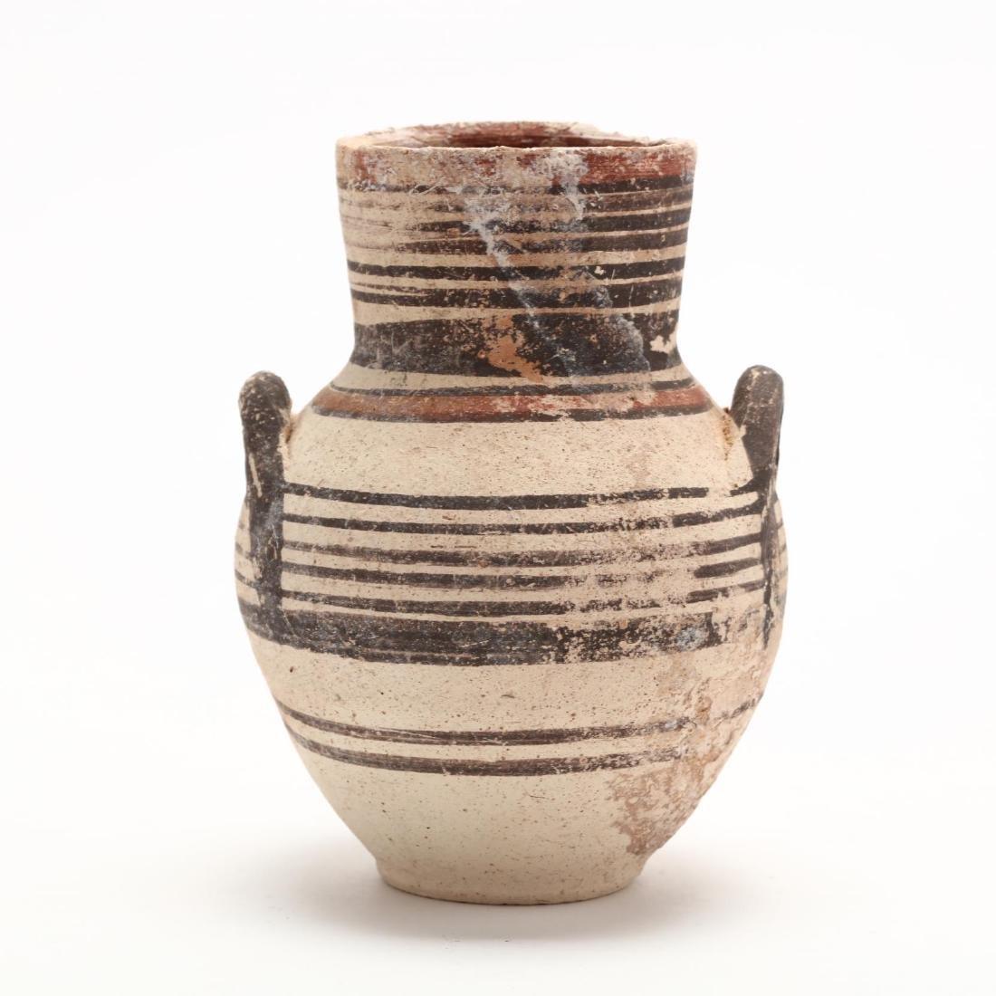 Cypro-Geometric Creme Ware Small Amphora, Ex. Haggard - 4