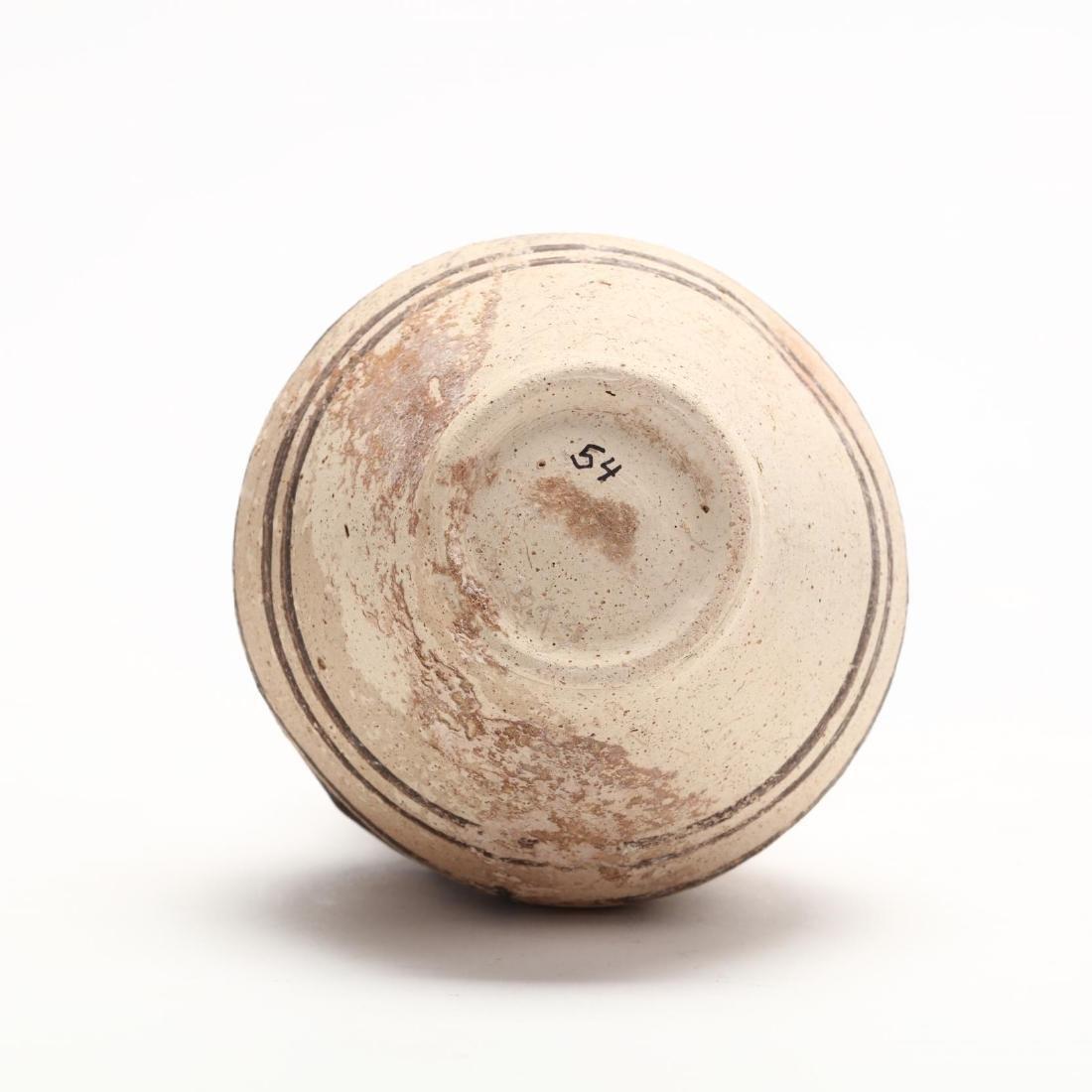 Cypro-Geometric Creme Ware Small Amphora, Ex. Haggard - 6