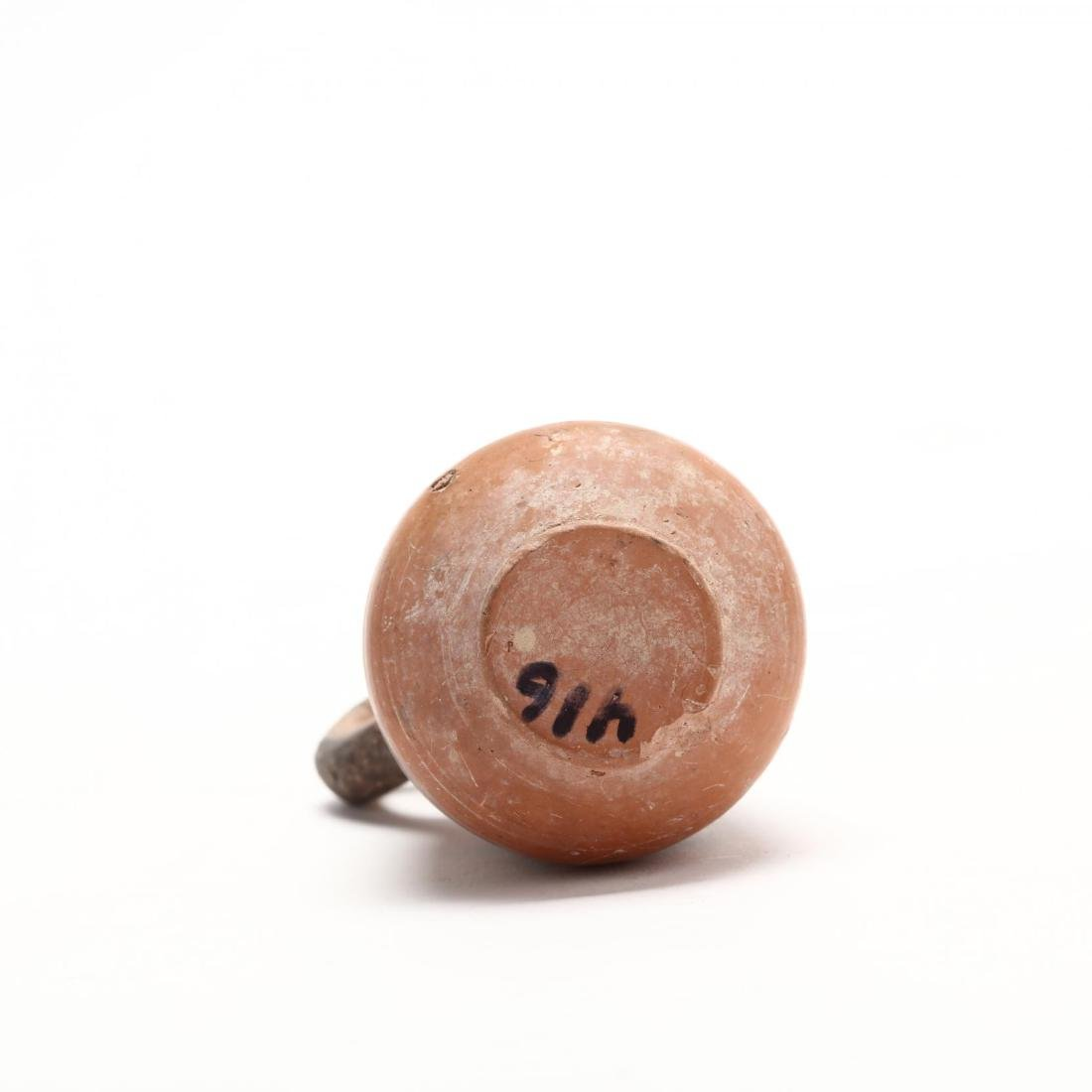 Cypro-Phoenician Iron Age Red Ware Juglet - 5