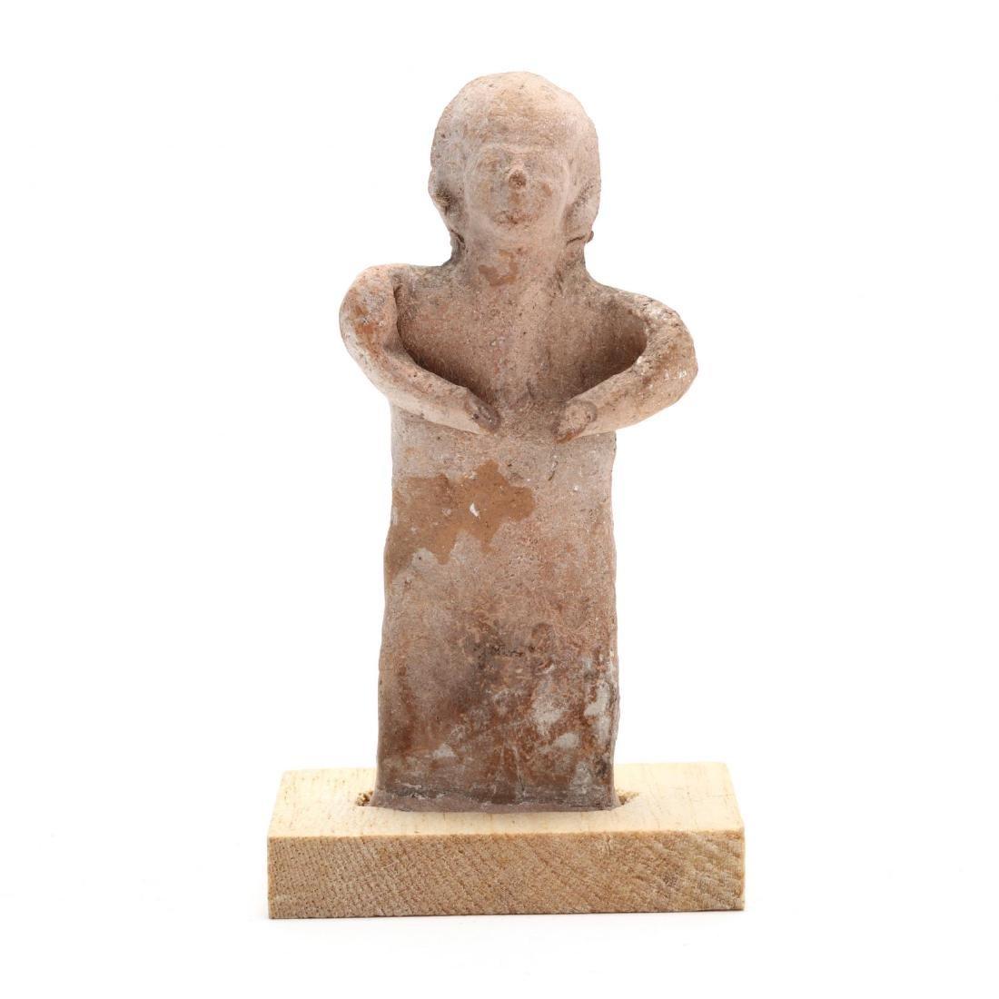 Cypro-Archaic Terracotta Fertility Statuette