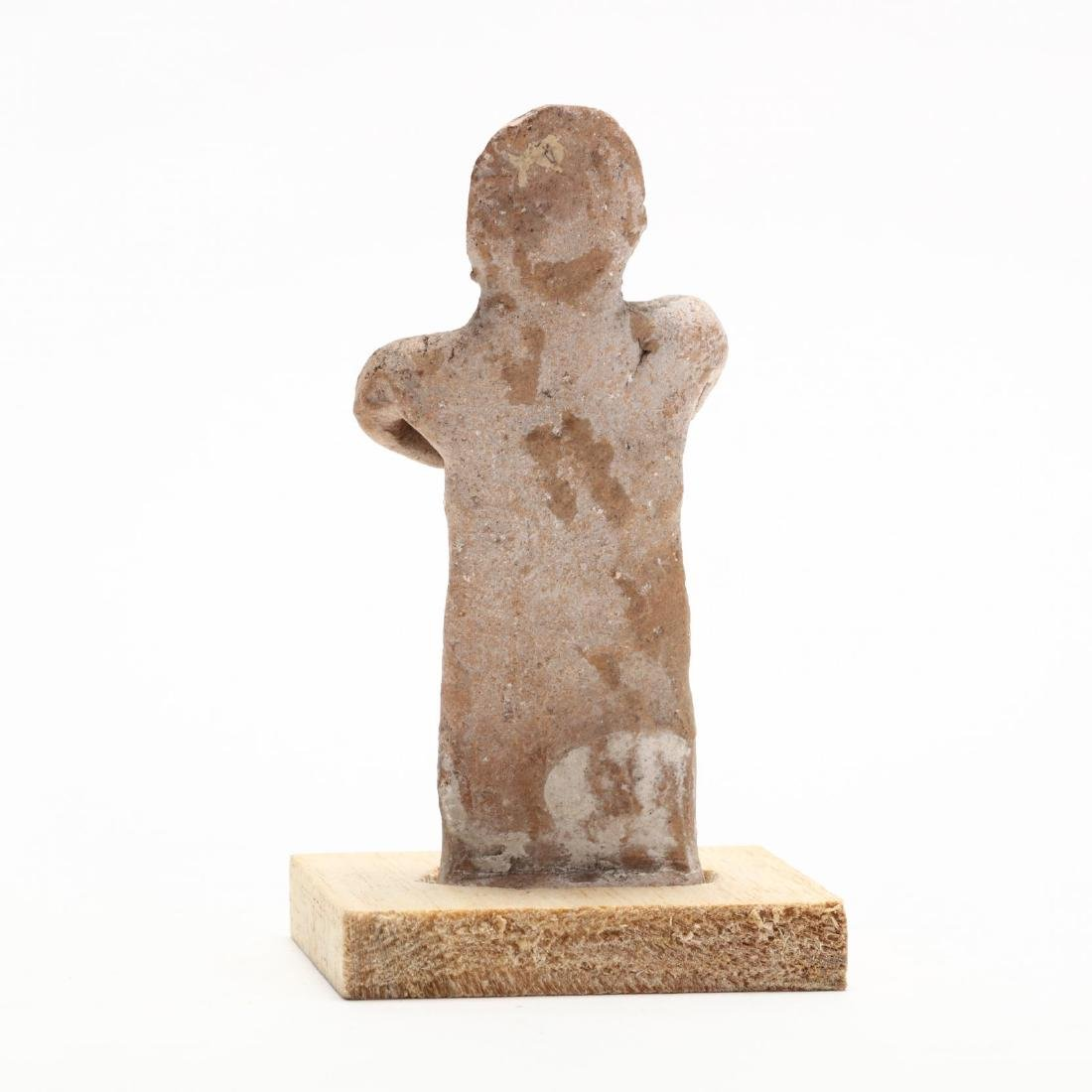 Cypro-Archaic Terracotta Fertility Statuette - 3