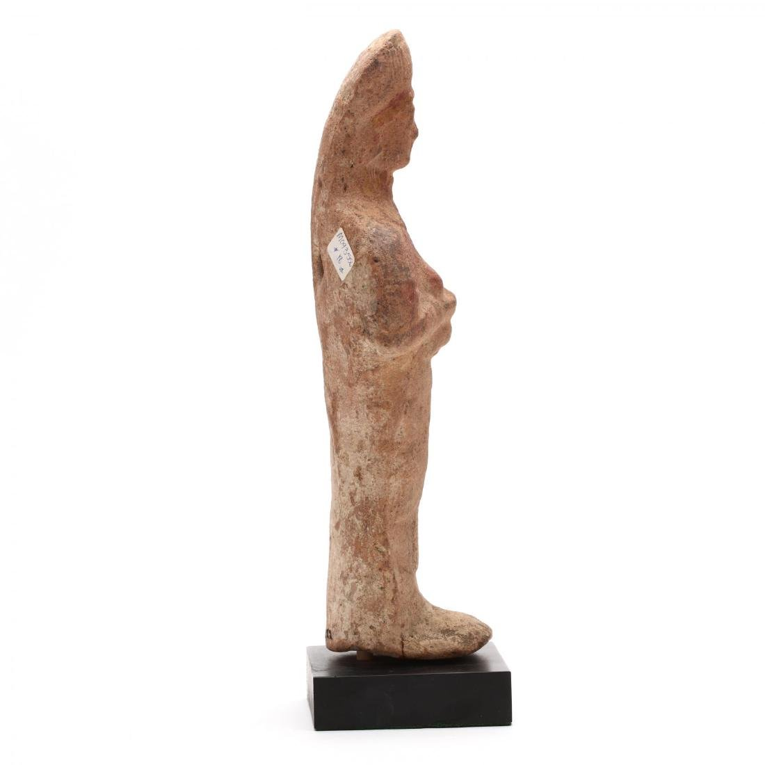Cypriot Terracotta Statuette of a Female Votary - 2