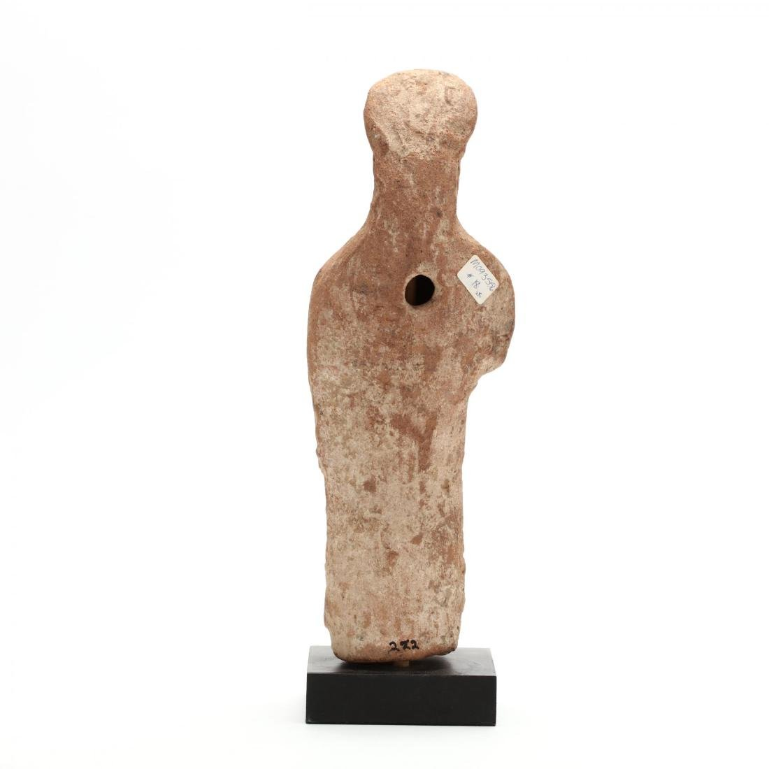Cypriot Terracotta Statuette of a Female Votary - 3