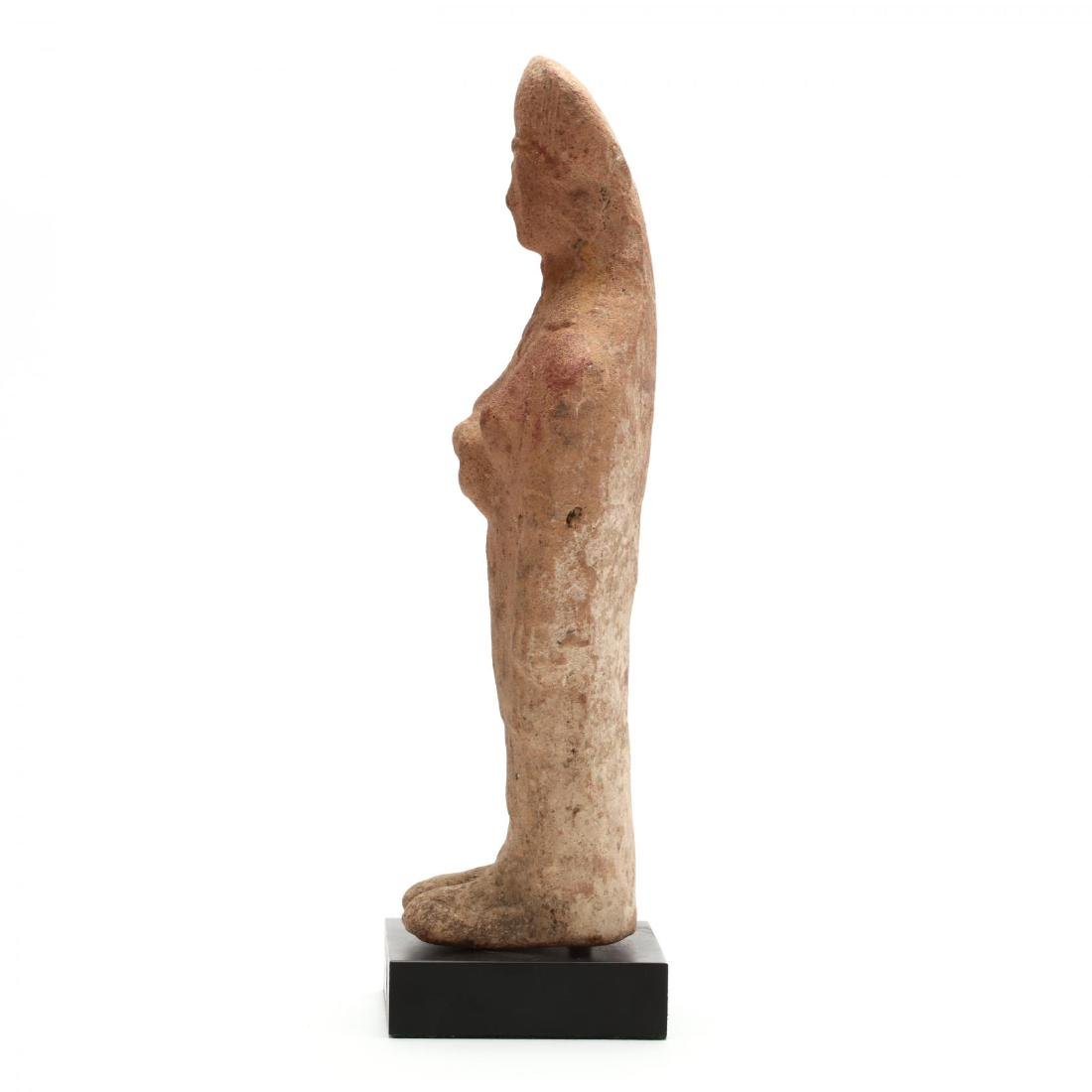 Cypriot Terracotta Statuette of a Female Votary - 4