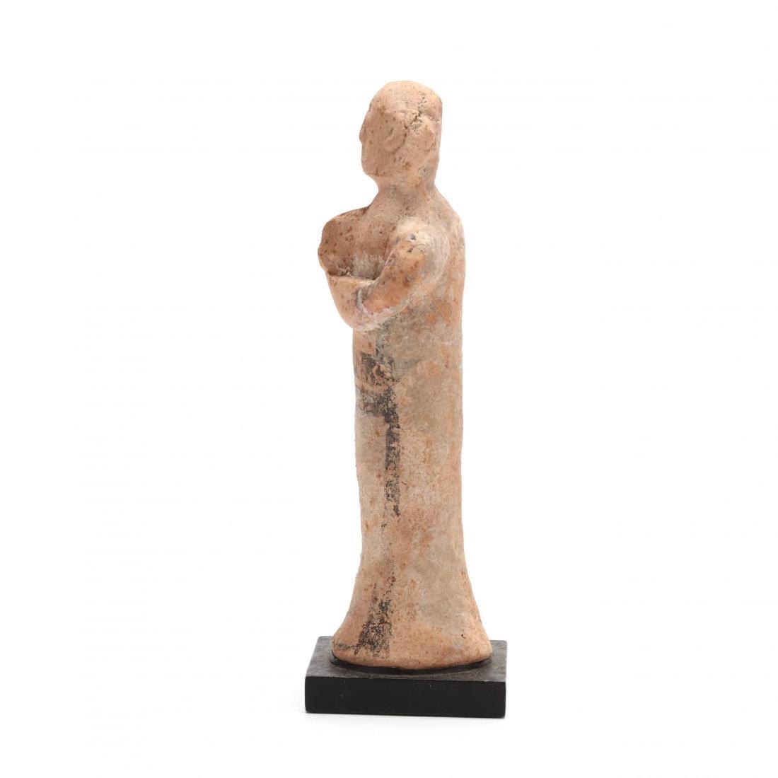 Cypro-Archaic Terracotta Musician or Votive - 4