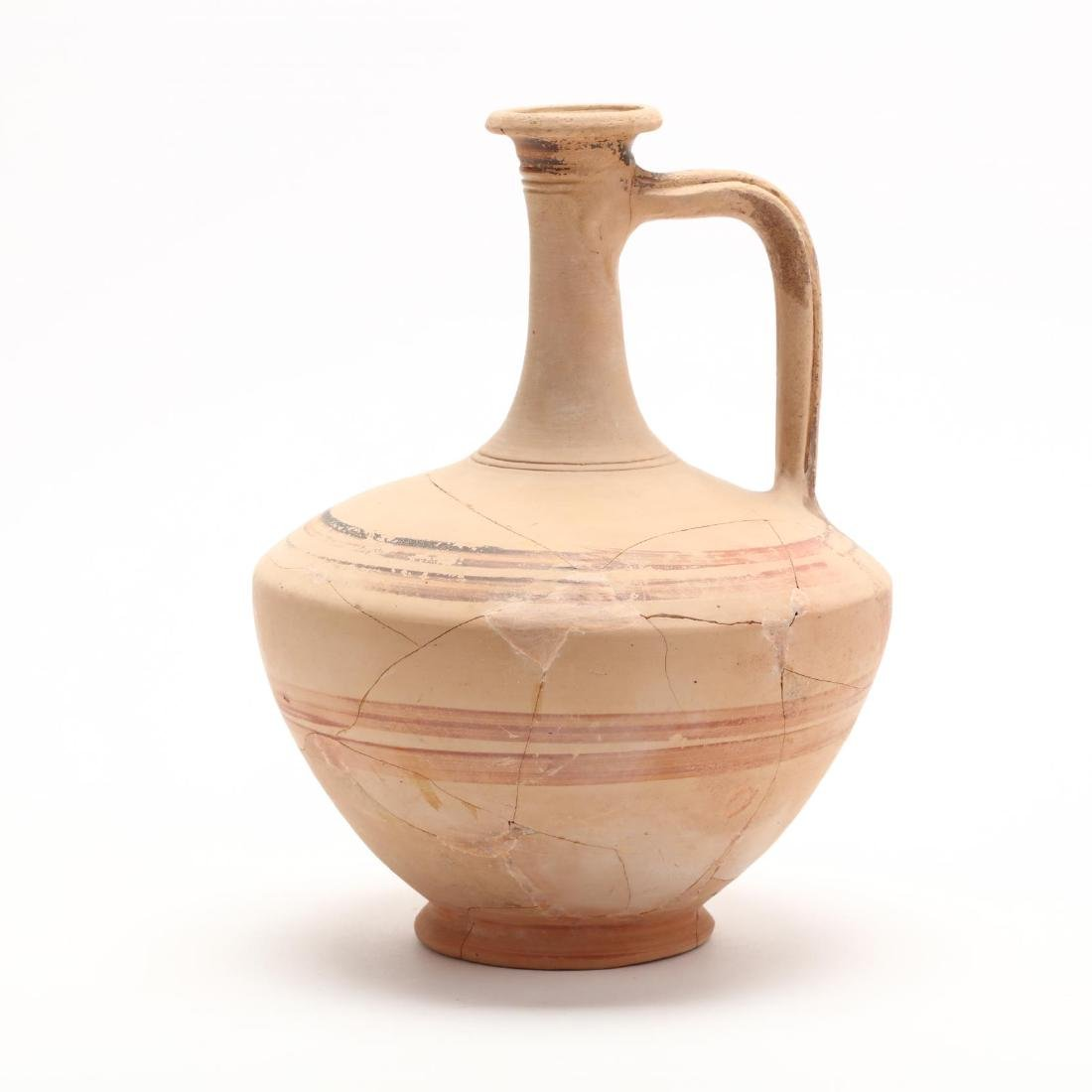 Hellenistic Cypriot White Ware Jug, Ex. Morris - 3