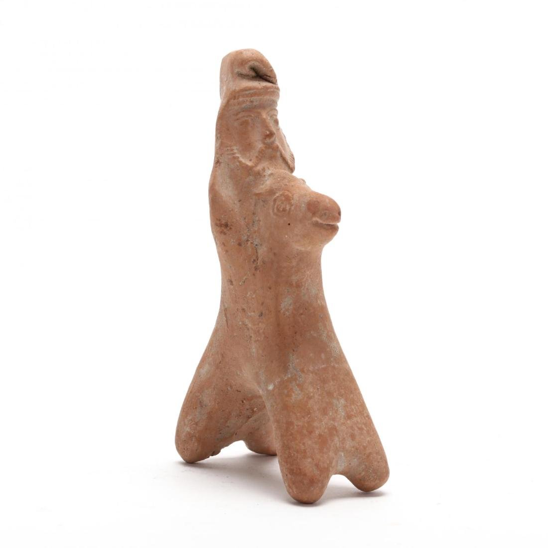 Cypriot Terracotta Horse and Rider