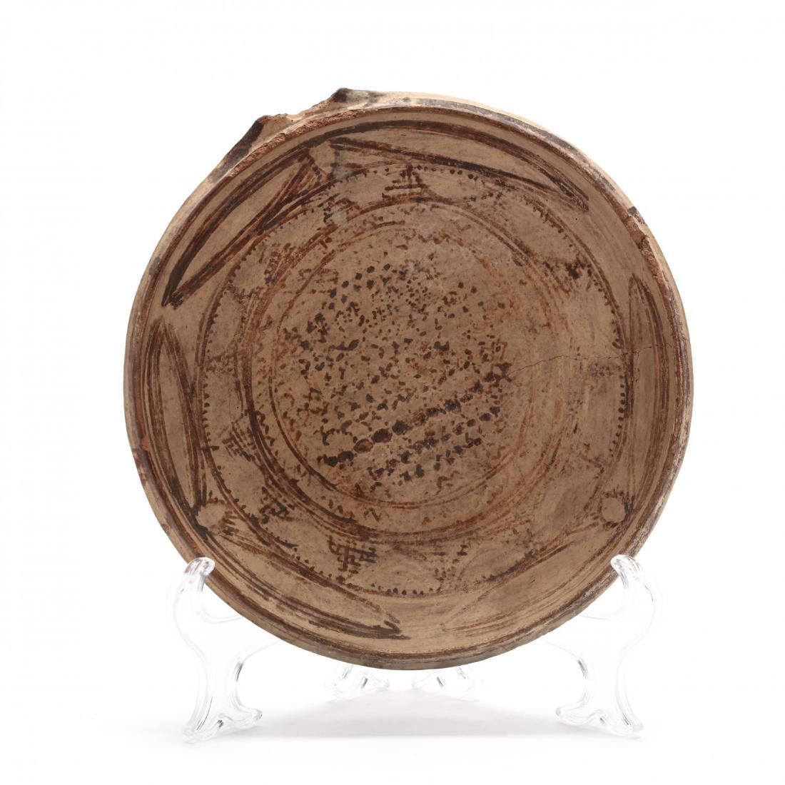 Large Cypriot Buff Terracotta Bowl
