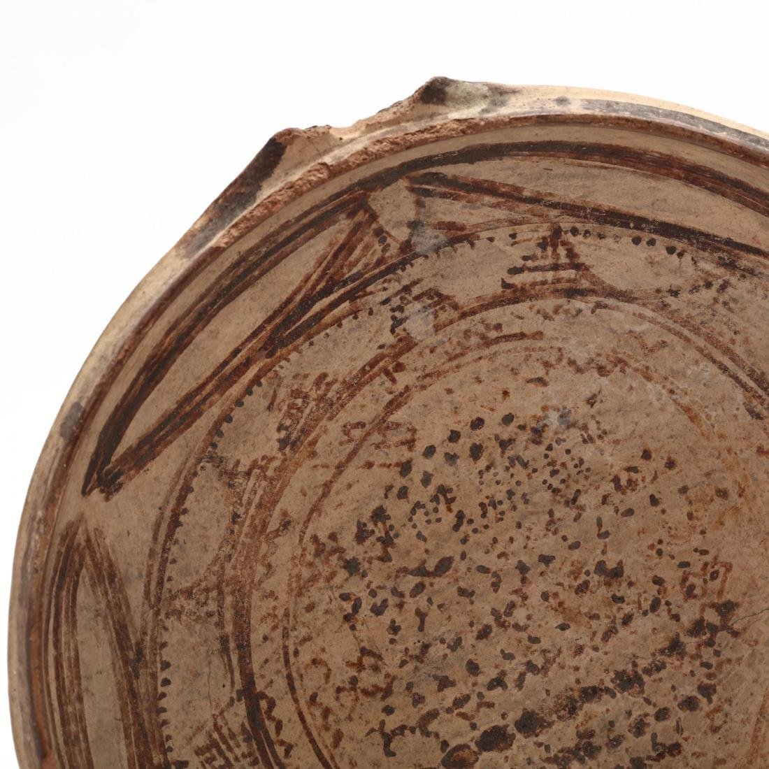 Large Cypriot Buff Terracotta Bowl - 2