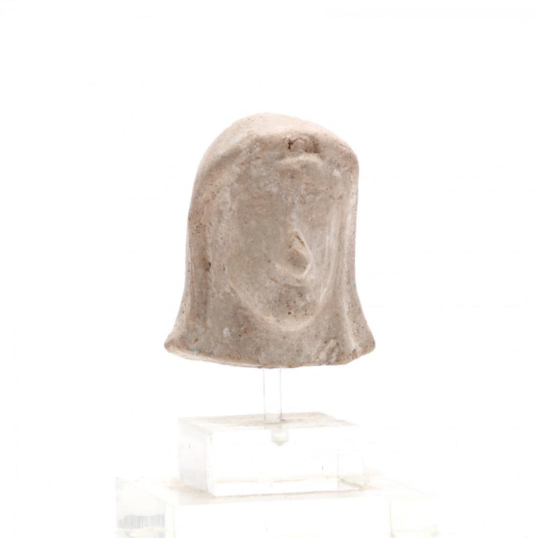 Cypriot Limestone Head of a Lady