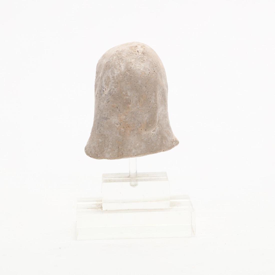 Cypriot Limestone Head of a Lady - 3