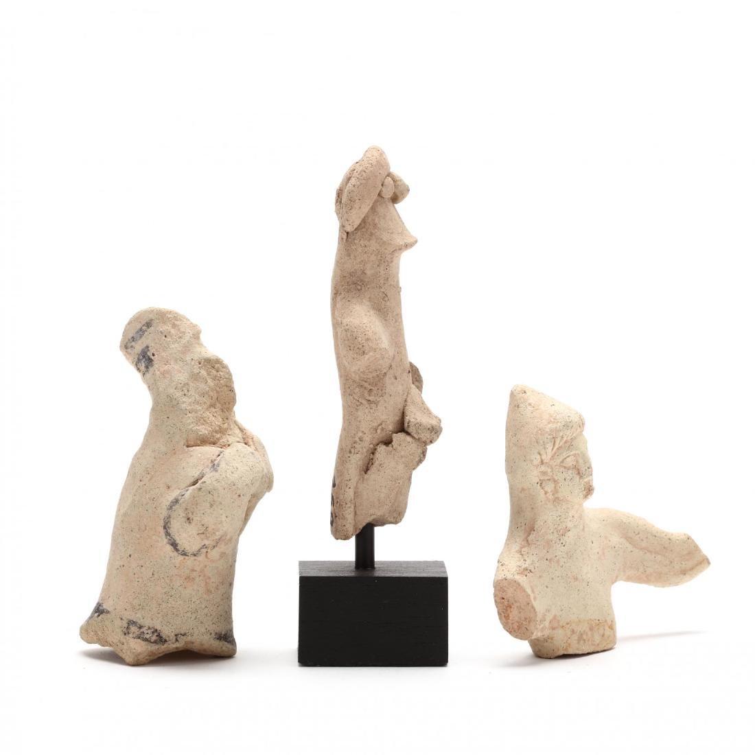 Three Fragmentary Cypriot Terracotta Figures - 2