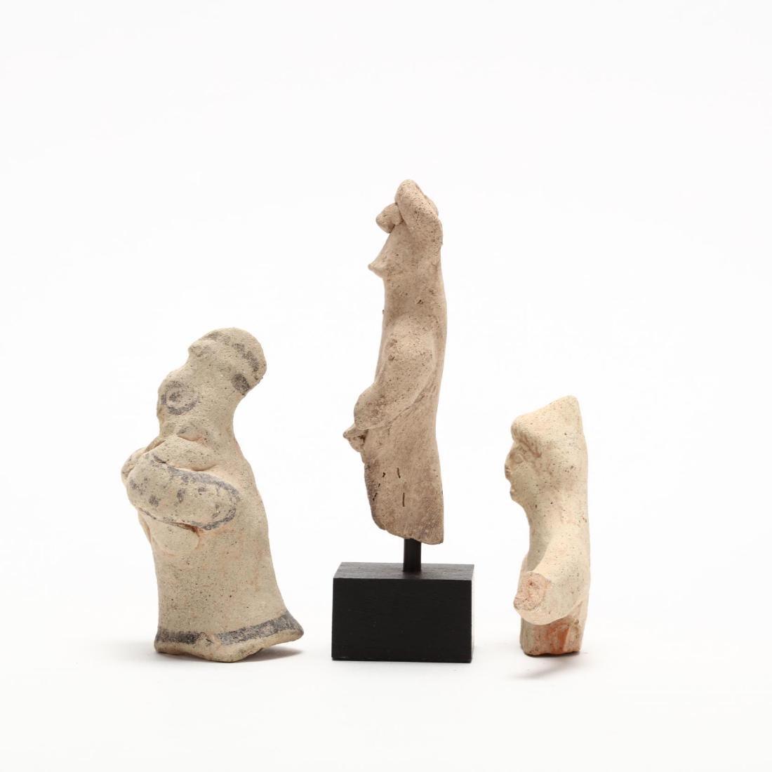 Three Fragmentary Cypriot Terracotta Figures - 4