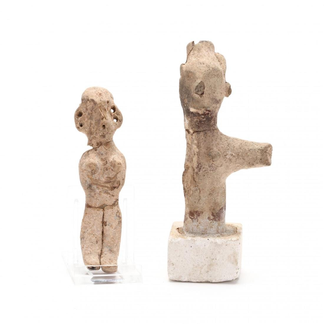 Two Early Cypriot Terracotta Figures