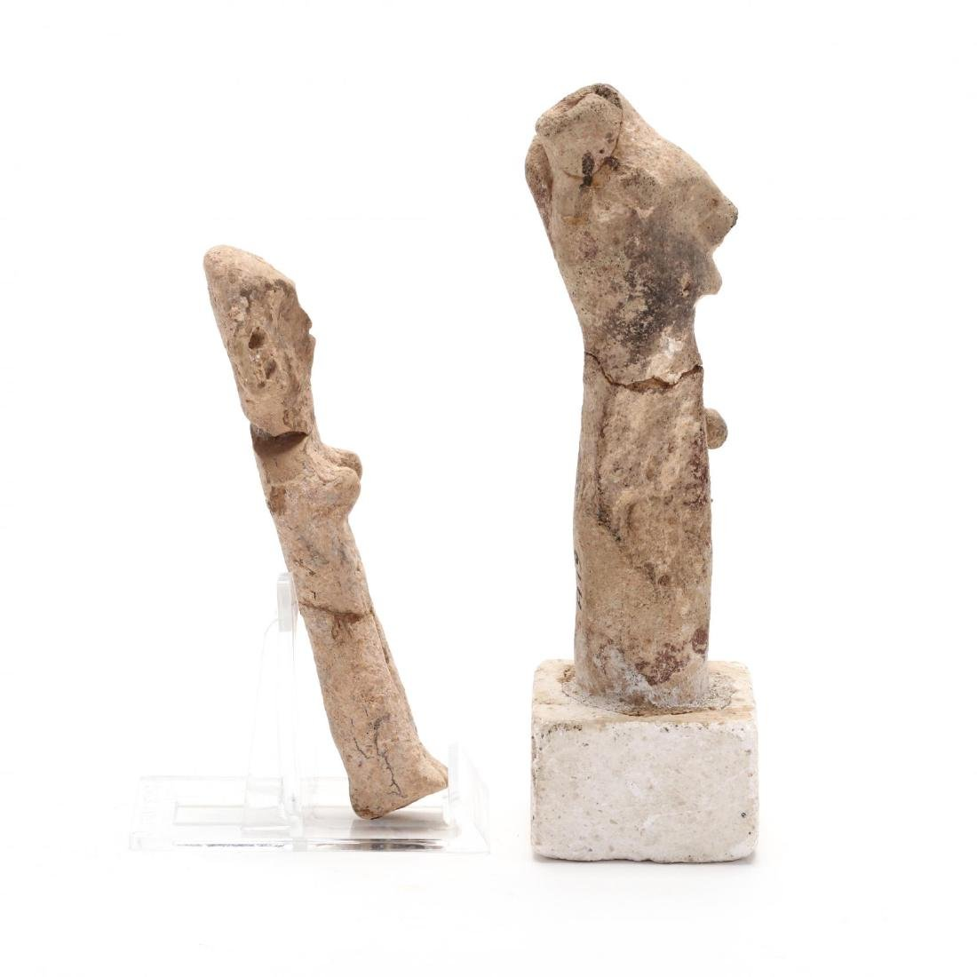 Two Early Cypriot Terracotta Figures - 2