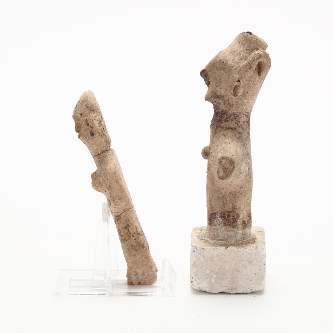 Two Early Cypriot Terracotta Figures - 4