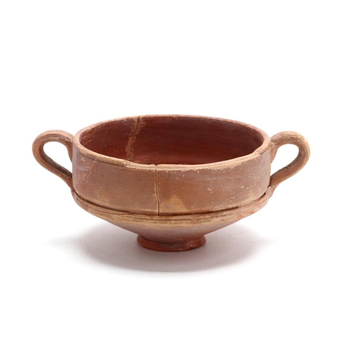 Cypriot Hellenistic Footed Red Ware Bowl
