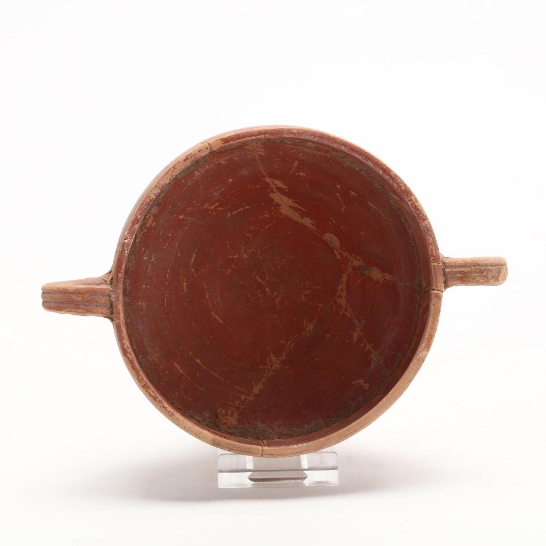 Cypriot Hellenistic Footed Red Ware Bowl - 2