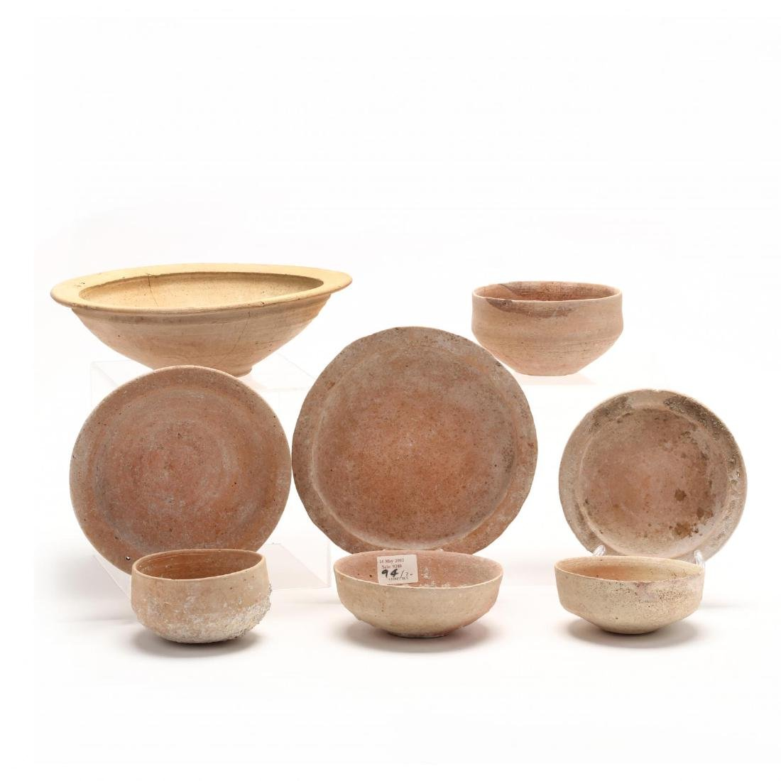 Eight Plain Cypriot Hellenistic Bowls