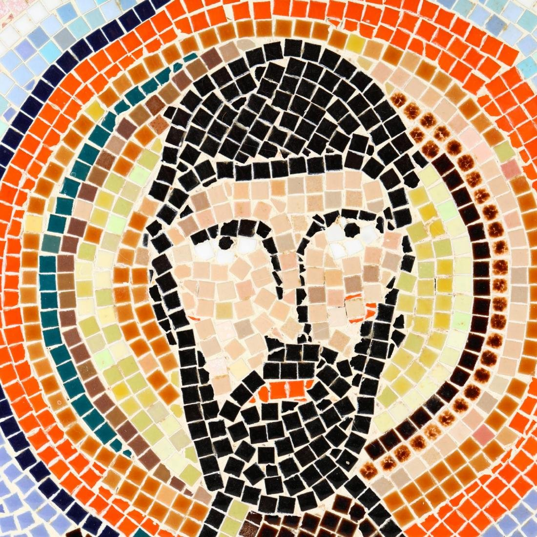 Contemporary Byzantine Style Mosaic of Christ - 2
