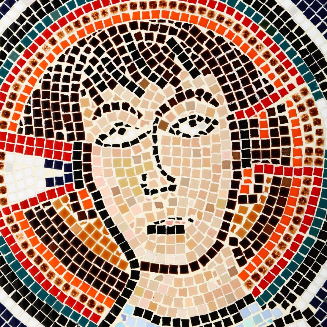 Contemporary Byzantine Style Mosaic of an Apostle - 2