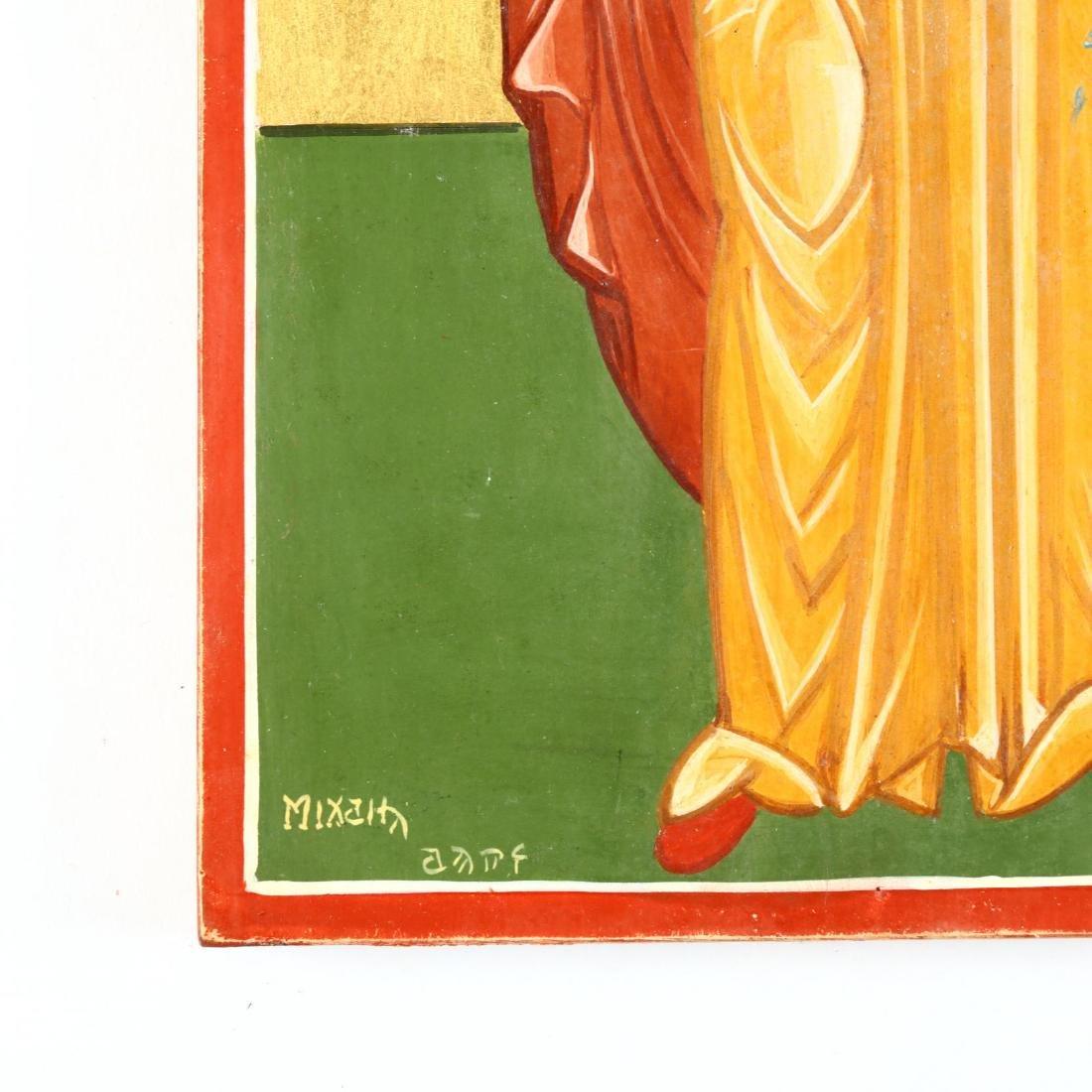 Contemporary Greek Icon of St. Barbara - 2