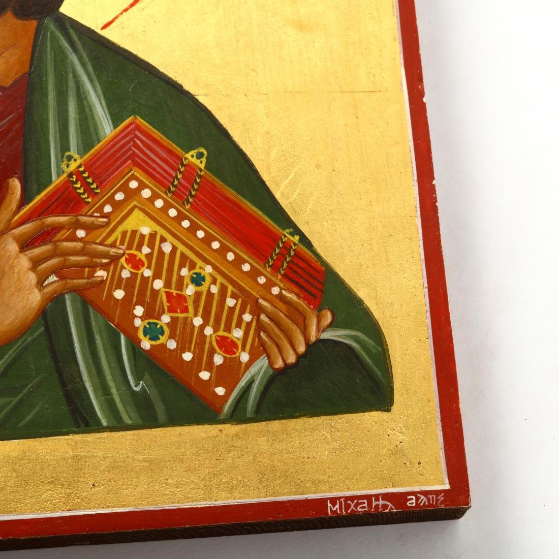 Contemporary Greek Icon of Saint Mark - 2
