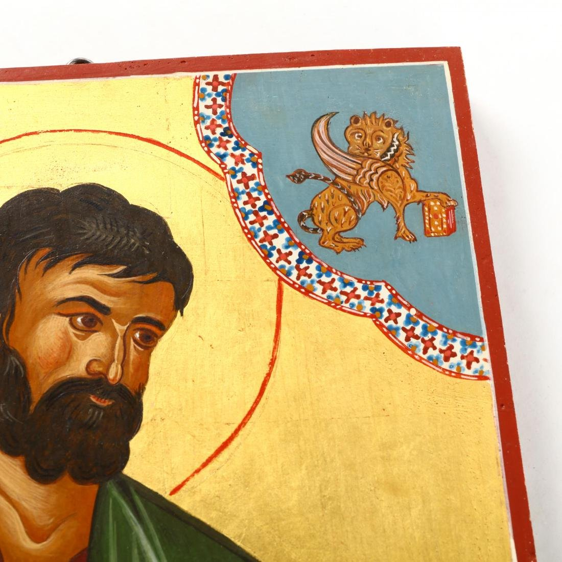 Contemporary Greek Icon of Saint Mark - 3