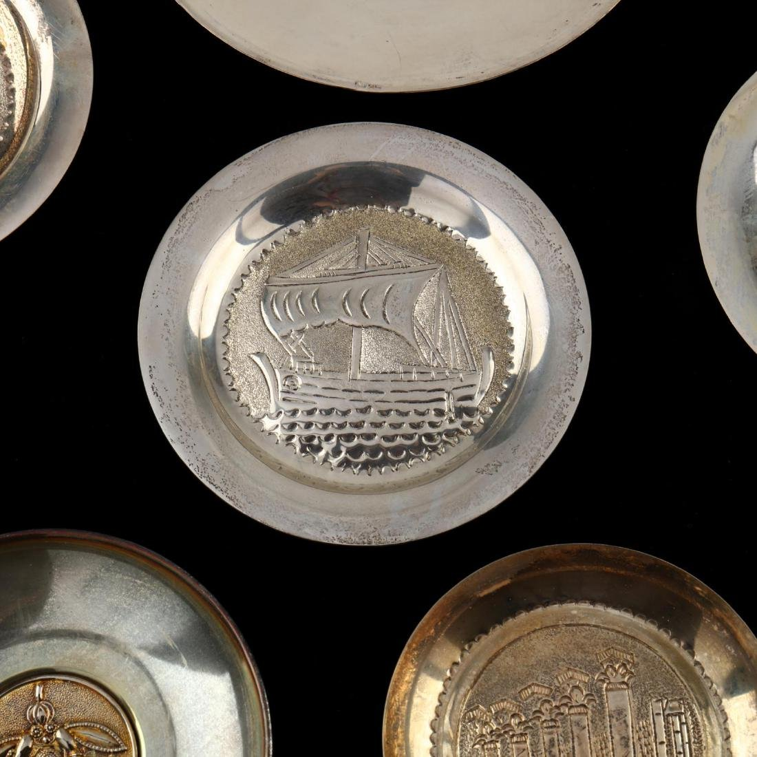(14) Cypriot .830 Silver Dishes - 2