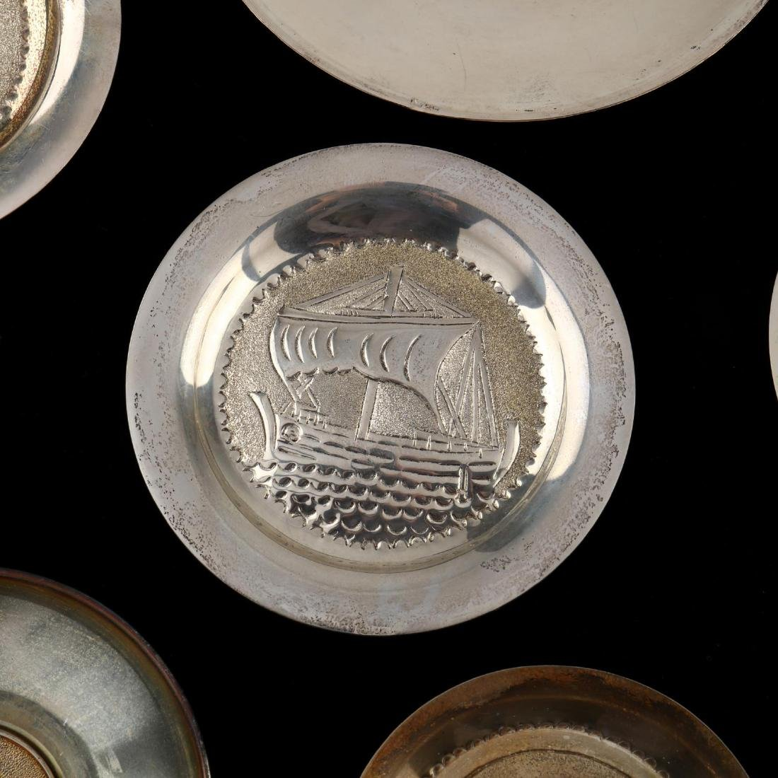 (14) Cypriot .830 Silver Dishes - 8