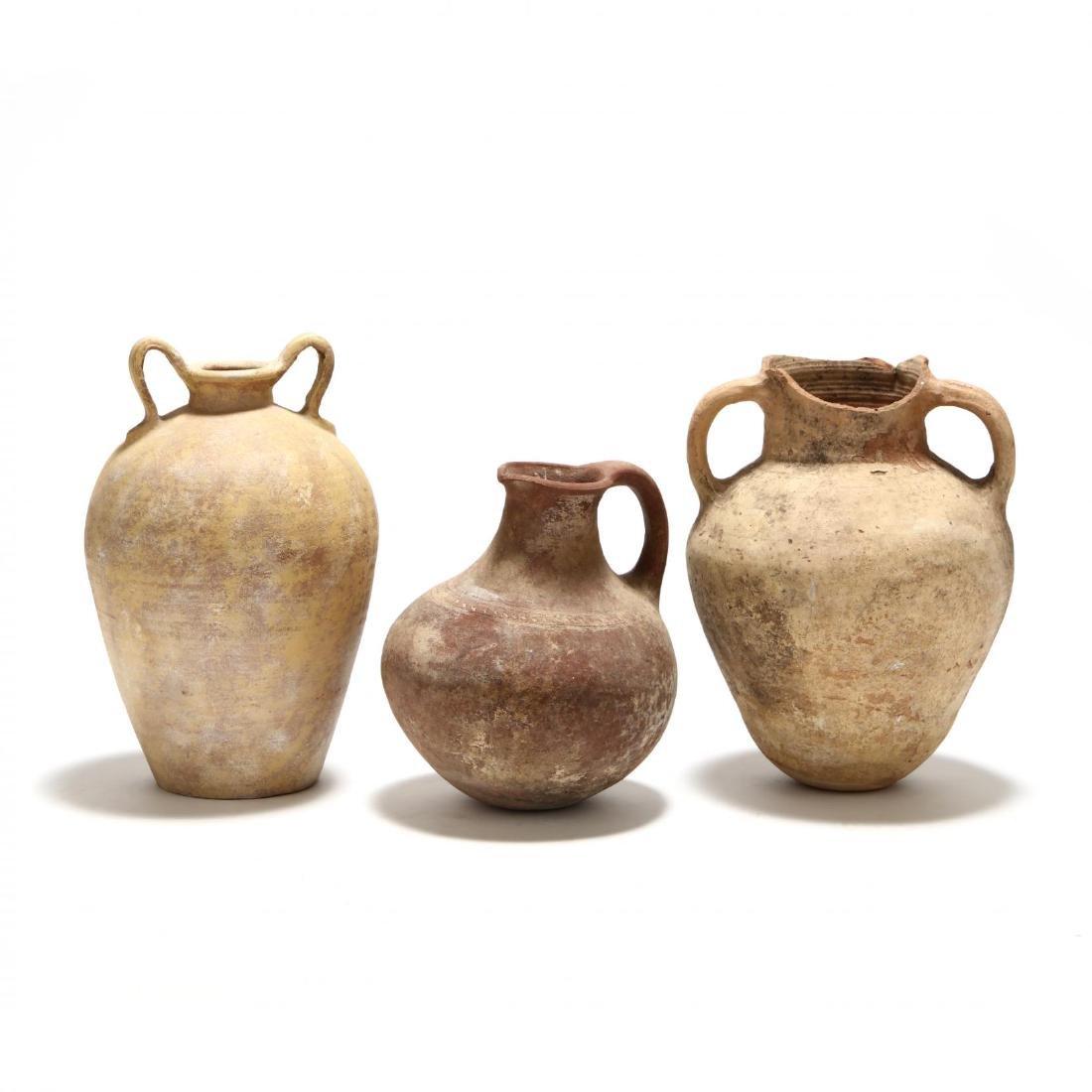 Three Cypriot Storage Vessels