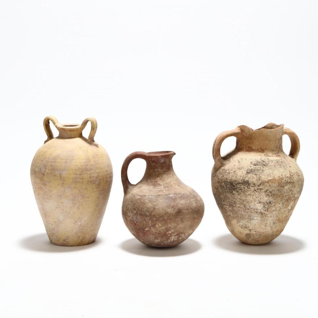 Three Cypriot Storage Vessels - 5