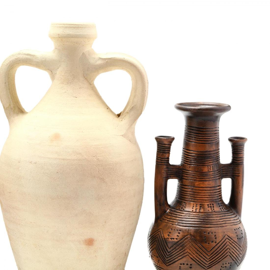 Four Pieces of Contemporary Cypriot Pottery - 3
