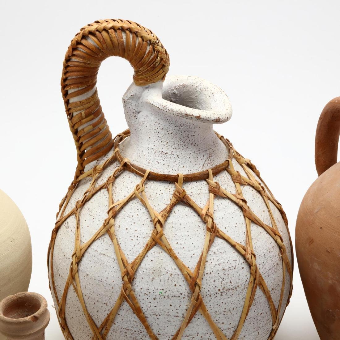Five Contemporary Cypriot Pottery Vessels - 3