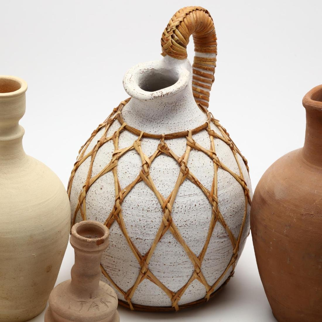 Five Contemporary Cypriot Pottery Vessels - 5