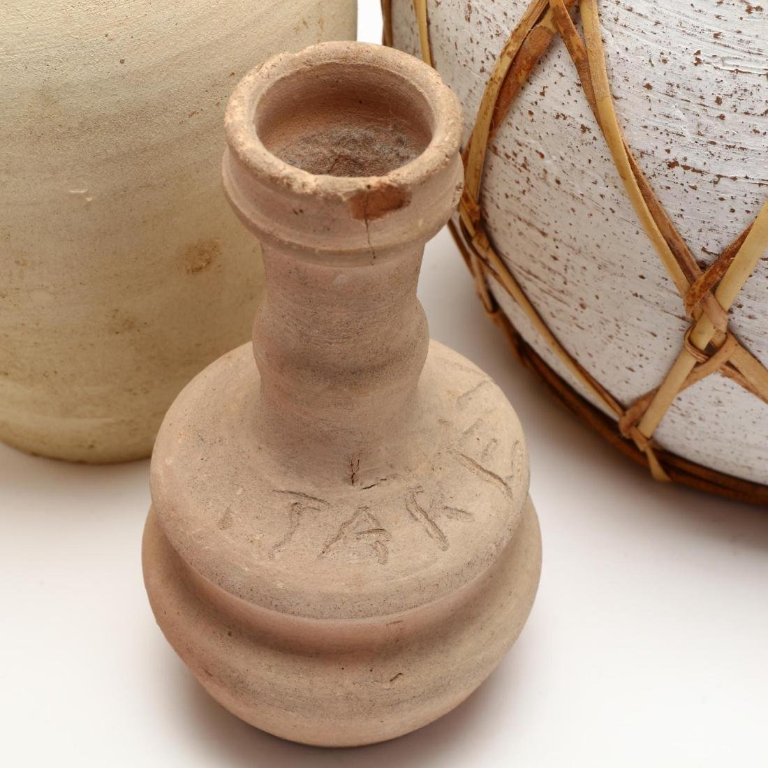 Five Contemporary Cypriot Pottery Vessels - 6